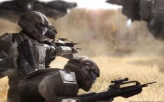 Shock Trooper Sunrise by on DeviantArt Halo 3 Odst, Halo 2, Halo Pelican, Halo Armor, Halo Series, Pokemon, Halo Reach, Spaceship Design, Most Beautiful Wallpaper