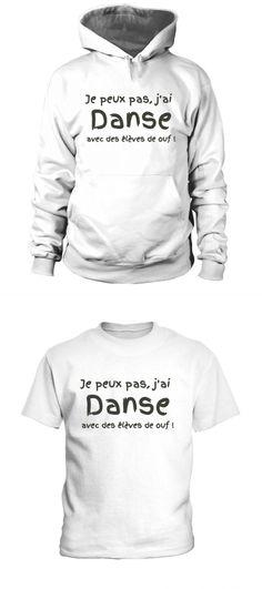 Sweat danse  j ai danse  (personnalisable) a ed. lim. tee shirt fitness  femme nike f5b887d9804