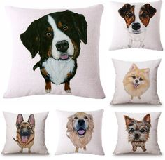 Dog Pillow Covers By Breed