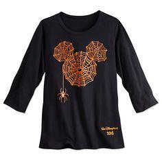 Mickey Mouse Icon Halloween Tee for Women - 2016 - Walt Disney World Disney Halloween Shirts, Disney Shirts For Family, Shirts For Teens, Women Halloween, Halloween Costumes, Halloween Halloween, Disney Outfits, Disney Clothes, Disney Fashion