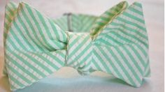 Bearer BOW TIE in personalized fabric