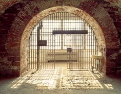 Andrew Moore, Jail Cell, Castle Williams, Governors Island, 2003