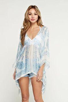 2dfc84fc783 Ethnic Print Pullover Handkerchief Tunic – Posh Society Ethnic Print