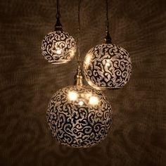 Zenza floral lamp