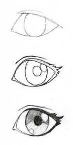 New Eye Drawing Sketches Easy Ideas Easy Drawing Tutorial, Manga Drawing Tutorials, Drawing Techniques, Drawing Ideas, Eye Tutorial, Sketch Drawing, Drawing Art, Eye Sketch, Sketch Ideas