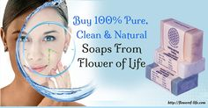 Whether its baby shower or birthday, natural soaps from Flower of Life form the perfect present. http://stores.ebay.in/Flower-Of-Life-Store