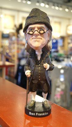 The Ben BobbleHead doll!