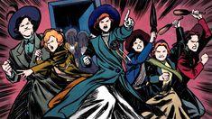 """Suffrajitsu: Mrs. Pankhurst's Amazons"" graphic novel trailer"