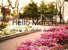 Maart het gaat over maart