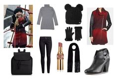 """""""Sabrina Carpenter ( Secondary ) Set Four"""" by minicelebfashion on Polyvore featuring Ted Baker, rag & bone, H&M, Pinko and Yves Saint Laurent"""