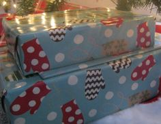 This is what i do- Color code your wrapping paper by family member or family celebrations.Makes for easy sorting and ensuring gifts end up where they need to. Via Clean Mama