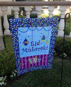 Lantern Court Eid Garden Flag