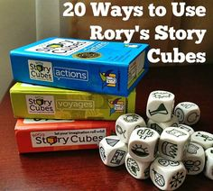 20 Ways to Use Rory's Story Cubes - HSP Mom