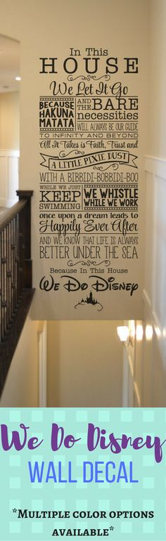We Do Disney / Disney wall decal quote wall decal vinyl wall sticker home decor Walt Disney vinyl lettering. Wall Stickers Quotes, Wall Stickers Home Decor, Wall Quotes, Disney Wall Decals, Vinyl Wall Decals, Sticker Vinyl, Wall Paper Phone, Disney Home Decor, Home Decor Quotes