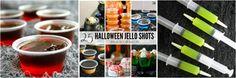 Black Magic Jello Shots collage