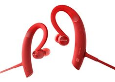 Special Offers - Cheap Sony MDRXB80BS/R Premium Wireless In-Ear Sports Headphone Red - In stock & Free Shipping. You can save more money! Check It (December 01 2016 at 03:26AM) >> http://wheadphoneusa.net/cheap-sony-mdrxb80bsr-premium-wireless-in-ear-sports-headphone-red/