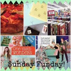 Sunday Funday: Issue 2 by Katie Crafts - Crafting, Sewing, Recipes and More! http://katiecrafts.com