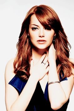 I adore Emma Stone's hair colour. Only just found out the other day she and I are the same age! Born 1989 ♡