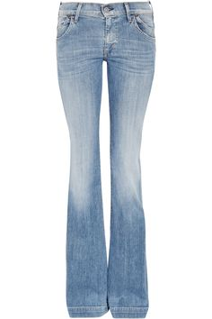 Curves and Flare :-) - Citizens of Humanity Hutton mid-rise flared jeans