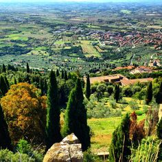 Cortona Italy Hilltop Town