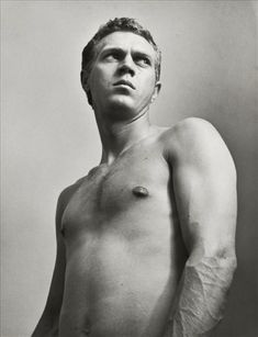 1955, Steve McQueen; photo by Roy Schatt
