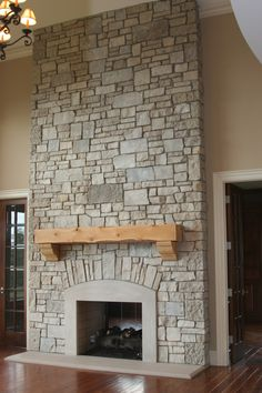 Architecture, Stone Fireplace Ideas Wood Mantels Living Room Stone Wall Tiles Cast Stone Fireplace Mantels Cast Stone Fireplace Surround Limestone Fireplace Mantels Faux Brick Siding Fireplace Wall Decor Stone For Fireplace Fieldstone Veneer Stone Fireplace Design: Fireplace Stone Wall Decoration Ideas For Modern Home Design Interior