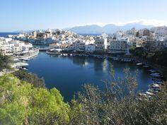 The lake of Agios Nikolaos