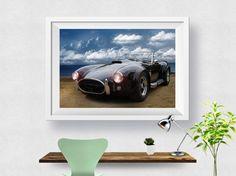 Porsche Car Print, Abstract Art Print, Home Decor, Modern Decor, Wall Art, Wall Decor, Photo, Poster Print, Printable Instant download
