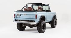 San Francisco | 1971 Ford Bronco | Classic Ford Broncos