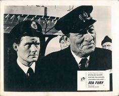 SEA FURY ROBERT SHAW ORIGINAL BRITISH LOBBY CARD Stanley Baker, Luciana Paluzzi, Robert Shaw, British, Sea, The Originals, Cards, The Ocean, Ocean