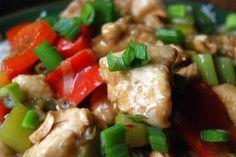 Low Sodium Kung Pao Chicken