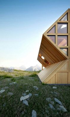Wooden house: