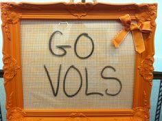 UT Tennessee Vols Dry Erase Board  UT Volunteers by KnoxvilleArt, $90.00