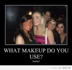 As a makeup artist, this especially makes me cringe.