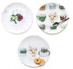 The Bowerbird: Lucy King Design melamine plate collection & online shop!