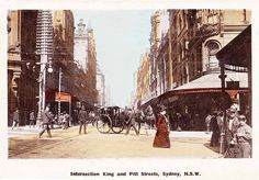 "Original Edwardian pooper scoopers ""Block Boys"" from the bottom RH corner of this postcard.  Sydney"