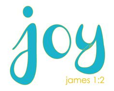 "James 1:2 ""Consider it pure joy, my brothers, whenever you face trials of many kinds"" #joy #myoneword"