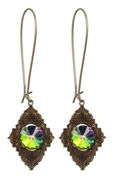 Bella Vintaj BECOME Amulet Revelation Earrings