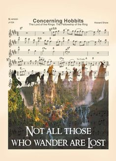 Lord of the Rings Not All Those Who Wander Are Lost Sheet #artprint #music #homedecor #wallart #kids #gifts #famliy #kidsroom #prints #art #fineart #etsy #Disney