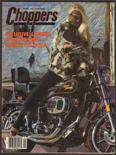January 1980 Choppers Magazine Harley Davidson FXS Low Rider XLS Sportster | eBay