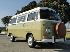 1969 Volkswagen Bus/Vanagon Westfalia.  I had one of these in red.  But not in  1969.  It was around 1990-ish.  OH!  And how I LOVED this thing!