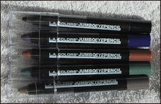 *Nina's Bargain Beauty*: L.A. Colors Jumbo Eye Pencils Review
