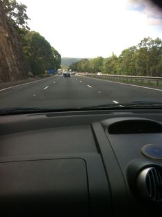 Tuesday 20th January, 2015. First photo of our trip on the F1 freeway heading down to the Hawkesbury River. Traveling to The Lesiure Inn Pokolbin Hill, Hunter Valley N.S.W.