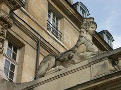 Entrance to Picasso Museum in Paris. European Tour, National Museum, Us Travel, Paris France, Art Museum, Statue Of Liberty, Entrance, Travel Photography, Lion Sculpture