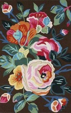 nuLOOM Aline Floral Area Rug