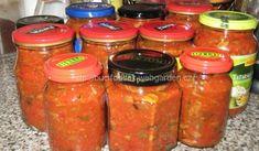 Houbová směs | recept na omáčku s houbami Salty Foods, Yams, Pesto, Kimchi, Pickles, Food And Drink, Homemade, Canning, Drinks