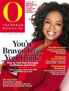 O, The Oprah Magazine Cover, November 2013