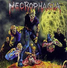 Necrophagia death metal