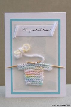 Items similar to baby boy card baby congratulations card with with handmade crochet knit little baby sweater on Etsy – Baby Shower İdeas 2020 Baby Shower Unisex, Baby Congratulations Card, Baby Shower Invitaciones, New Baby Cards, Paper Cards, Creative Cards, Greeting Cards Handmade, Baby Boy Cards Handmade, Handmade Stamps