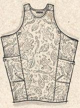 Gudrun Sjoden fall 2016. Turtle dress. Cotton. 95 cm long.